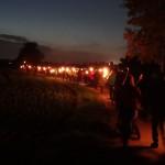 """Erster Anneröder """"FACKELWURM"""" begeistert fast 200 Teilnehmer"""