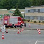 Feuerwehrleute intensivierten den Umgang mit den Fahrzeugen
