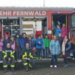 Schülerbetreuung Annerod schnupperte 2 Tage bei der Feuerwehr