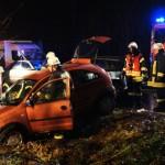 Schwer- und Leichtverletzter bei Unfall bei Annerod