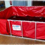 Neuer Faltbehälter (Husky) für Feuerwehr Fernwald